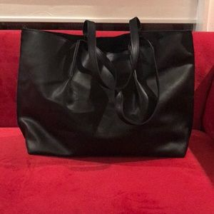 BRAND NEW SAKS LEATHER TOTE